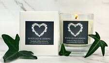Quinnell Candles White Lily & Ginseng - Luxury Candle