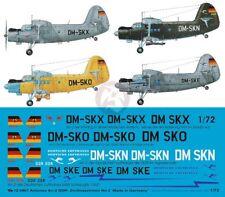 Peddinghaus 1/72 Antonov An-2 DDR East German Civil Markings #2 (4 planes) 907