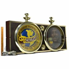 Vintage Schlitz Brewing Co. Lighted Sign No. 85129 Light-Up Advertising 36x15x5
