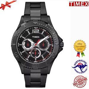 TIMEX TW2P87700 Men's Main Street Multi-function Analog Stainless Steel  Watch