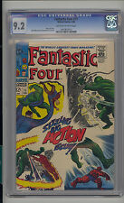Fantastic Four #71 CGC 9.2 NM- Unrestored Marvel OFF-WHITE to WHITE Pages Copy 1