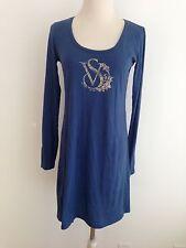 Victoria's Secret Knit Dress Tunic Blue Size S
