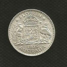 1939 FLORIN - GEORGE V - EXTREMELY FINE CONDITION - KEY DATE - MINT BLOOM