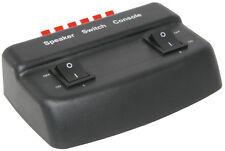 2 Vias Altavoz interruptor selector de individuales seleccionar o ambos juntos