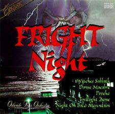 FRIGHT NIGHT (Halloween CD) Twilight Zone*Psycho*Witches Sabbath*Danse Macabre
