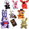 "FNAF Five Nights At Freddy's Sanshee Plushie Toy 7"" Plush Bear Foxy Kid Gift Toy"