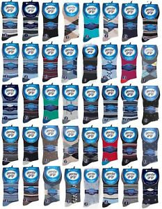 Mens Gentle Grip Cotton Socks | Mystery Mix | 6,9,12 or 18 Pairs | UK Size 6-11