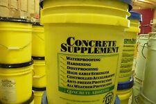Concrete supplement  Concrete additive 5 gal waterproof cement antifreeze  @@@