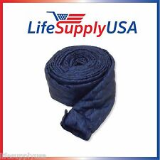 30 FT PADDED QUILTED VAC SOCK ZIPPER CENTRAL VACUUM HOSE COVER NEW VACSOCK 30FT