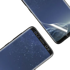 2 x FULL FACE 3D CURVED Samsung Galaxy S9 -  HD TPU Screen Protector Cover Guard