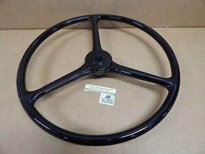 Willys CJ2A CJ3A Steering Wheel. Ford GPW. Slat Grill. 17 Inch. Very Nice!