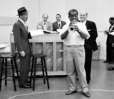 Frank Sinatra - Photo #21 - With Louis Armstrong