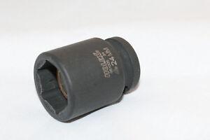 1/2 Zoll IMPACT-Steckschlüsseleinsatz 6-kant, 1/2″ mit Innenmagnet SW 24 mm