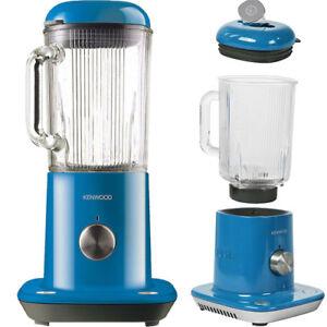 Kenwood kMix Standmixer Mixer 1,6 Liter 800W Eiscrusher Crusher Blender Blau NEU