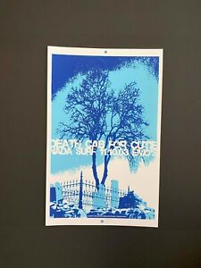 2003 Death Cab for Cutie silkscreen poster SIGNED & NUMBERED by Jared Connor