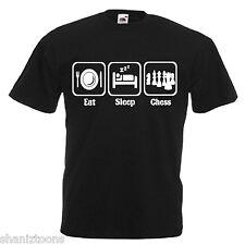 Chess Player Adults Mens T Shirt