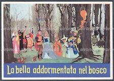 LA BELLA ADDORMENTATA NEL BOSCO 01 FILM WALT DISNEY - FIABA FAVOLA Cartolina