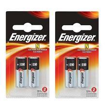 4 pcs E90 Energizer batteries 1.5V  LR1 N MN9100 AM5