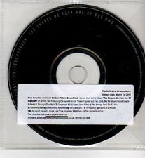 (CI67) Motion Picture Soundtrack, The Shapes We Fear Are Of Our Own - 2010 DJ CD