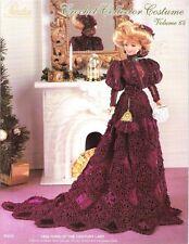 "Paradise Crochet Leaflet P-075 Vol 64 make 11 1/2"" 1899 Turn of the Century Lady"