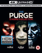The Purge: 3-movie Collection (4K Ultra HD + Blu-ray + Digital Download) [UHD]