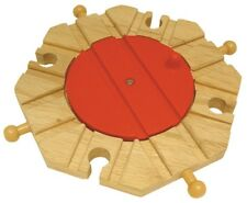 TURNTABLE ~ 8 way ~ for Wooden Train Track Set  ~ NEW / BOXED AA8