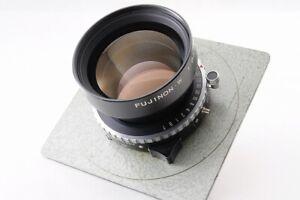 【Excellent+】FUJI FUJINON W 250mm F/6.3 1:6.3 Large Format Lens Retrek board JP