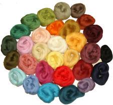 Filzwolle, Märchenwolle, 30 Farben 200 Gramm