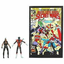 Marvel universo Secret Wars Comic 2-Pack Wave 4-Nightcrawler & Storm: Moc