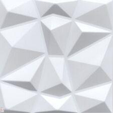 3D Wandpaneele Polystyrol Deckenpaneele Platten Paneele Diamant Motive 50x50cm