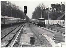 Photo / REPRO Montre fernbahnstrecke de gare griebnitzsee 1992 (agf439)