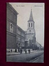 Carte Postale Belgique, Welkenraedt - Rue de l´église, 1912 nach Ostende