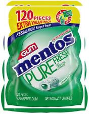 New listing Mentos Pure Fresh Sugar-Free Chewing Gum with Xylitol, 120 Count (Pack of 1)