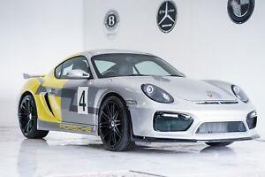 Porsche Cayman Body Kit Gen 2 GT4 Style Conversion