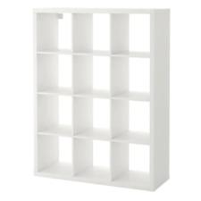 IKEA Kallax Regal In weiß (112x147cm) Raumteiler