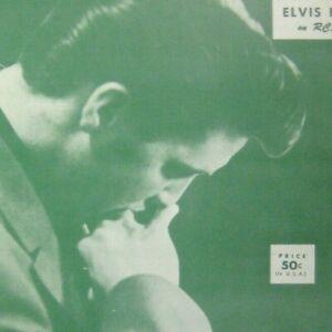 Too Much Sheet Music Elvis Presley RCA Copyright 1956 Lee Rosenberg