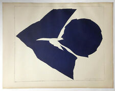 MID-CENTURY Modern ~ ABSTRACT FORMS ~ 1963 Lithograph JACK YOUNGERMAN
