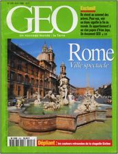 GEO - N°206 -  Avril 1996 - ROME Ville spectacle