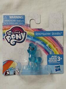 Hasbro My Little Pony ~ Rainbow Dash ~ Blue Figurine, Collectible MLP Toy