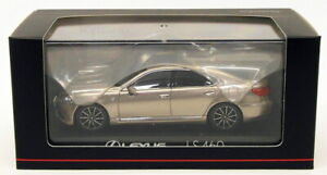 Kyosho 1/43 Scale Model Car 03659T - Lexus LS 460 F Sport - Sonic Titanium