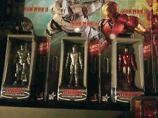 *Hot Toys Iron Man 3 - Miniature Figure Hall Of Armor Full Set of 7 BRAND NEW*