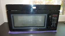 Maytag Black Over-the-Range Microwave Oven with 1000 Watts Mmv1164Wb