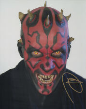 RAY PARK Signed 10x8 Photo STAR WARS DARTH MAUL COA