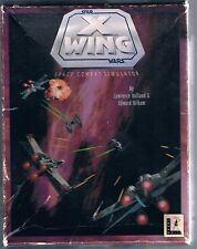 """Star Wars: X-Wing  (PC, 1992) Five 3.5"""" Discs"""