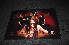FINNTROLL signed 8x12 inch Autographed Photo InPerson in Germany LOOK
