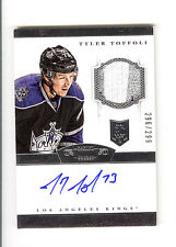 13-14 Panini Dominion Tyler Toffoli Rookie 296/299 Auto+Patch 2CLRs L.A Kings