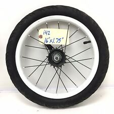 "16"" Rear White Bicycle Wheel w/ Coaster Brake & 1.75"" Tire Kids Bike #i42"