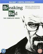 Breaking Bad Seasons 1 to 6 Complete Collection Blu-ray UK BLURAY