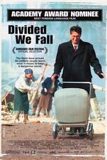 DIVIDED WE FALL Movie POSTER 27x40 Boleslav Polivka Anna Siskova Csongor Kassai