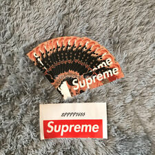 Supreme x Andres Serrano BLOOD AND SEMEN Sticker FW17 ready to ship in hand